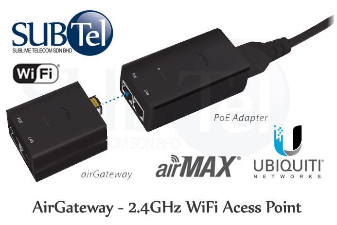 Ubiquiti airGateway UBNT Malaysia 11n WiFi AP