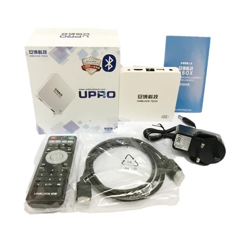 UBOX Unblock Tech UPRO i900 16G OS Version GEM 5