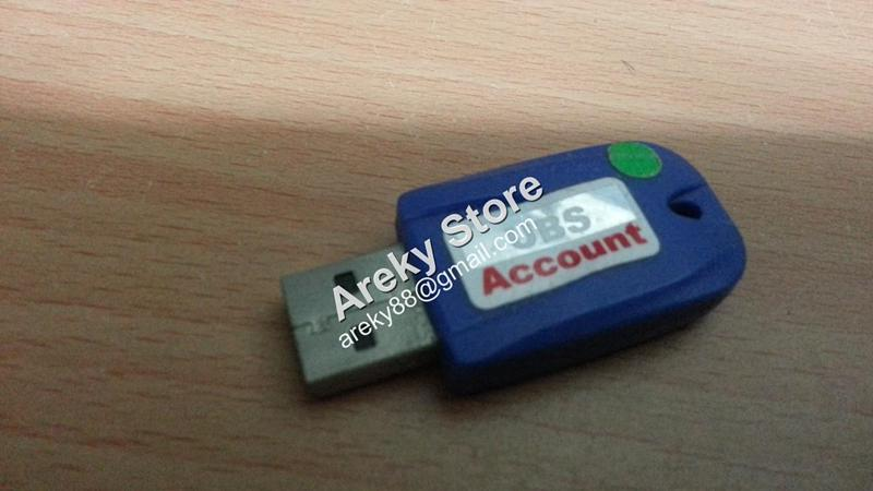 UBS ACCOUNTING 9.1 USB DONGLE