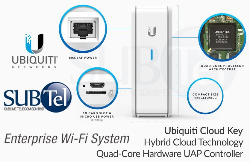 UC-CK Ubiquiti Controler - Cloud Key UBNT Malaysia