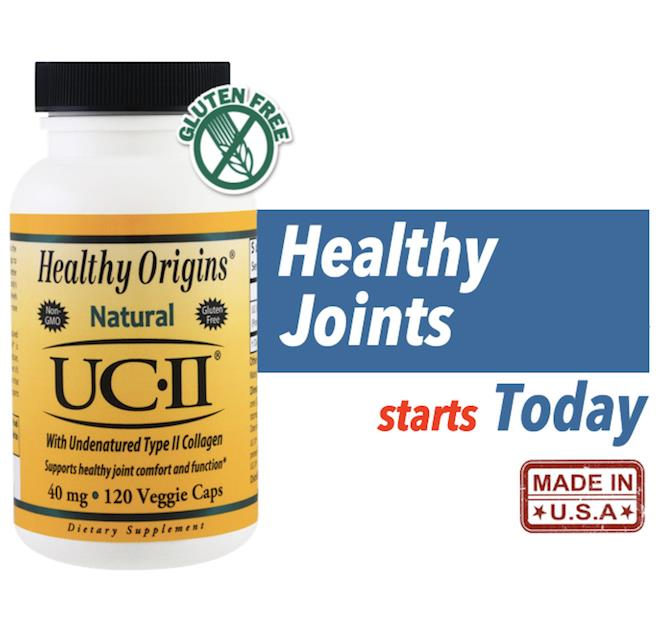 UC-II with Undenatured Type II Collagen, 40 mg, 120 Veggie Caps