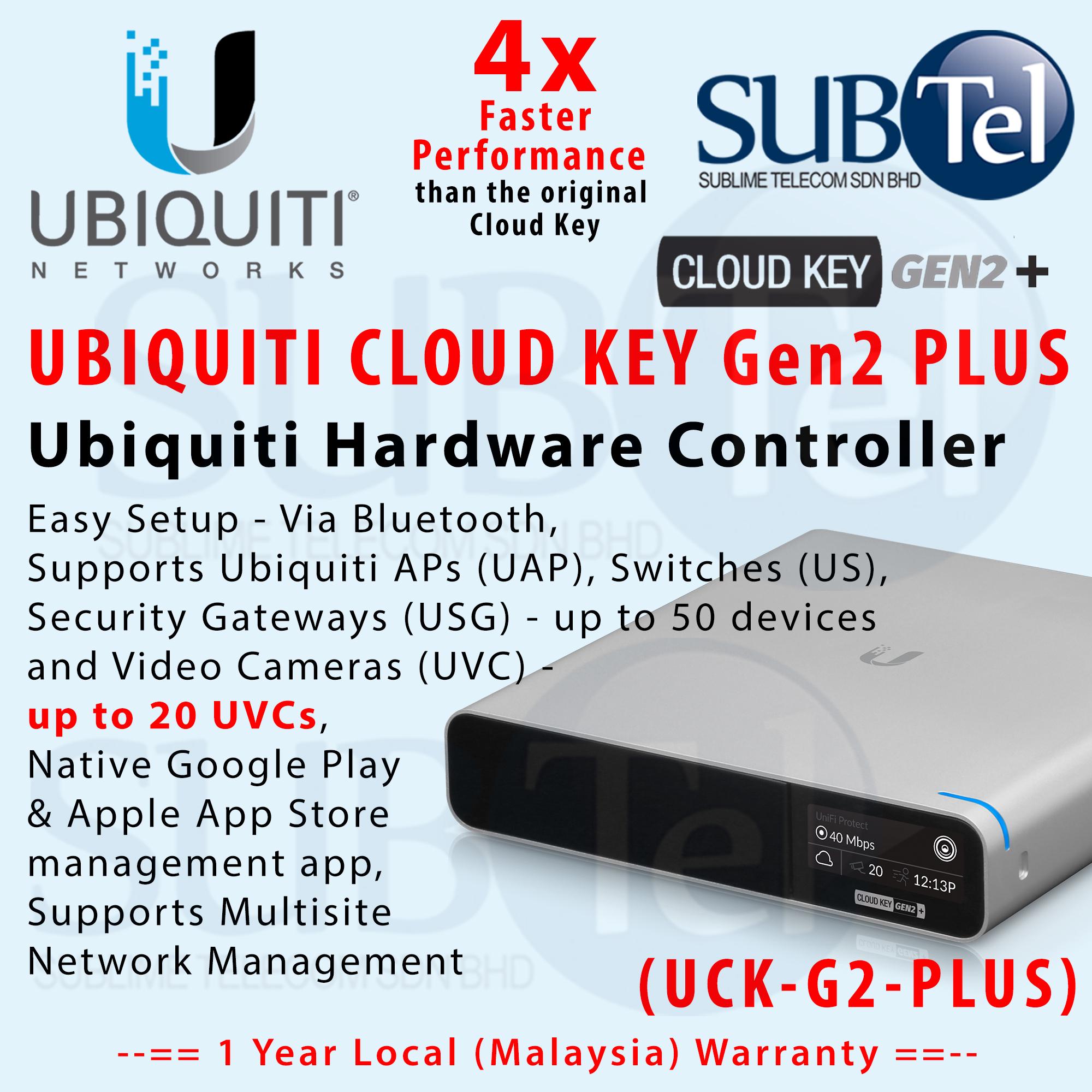 Unifi Cloud Key Gen2 Plus Manual