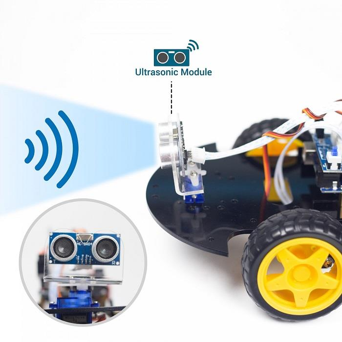 UCTRONICS Bluetooth Robot Car Kit for Arduino with UNO R3