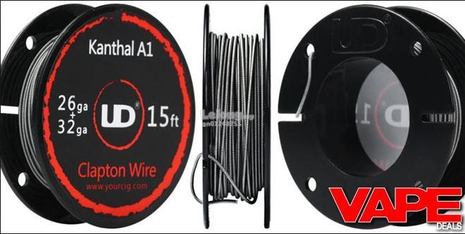 UD Kanthal A1 Wire 20,22,24,26,27,28 (end 2/3/2020 10:15 PM)