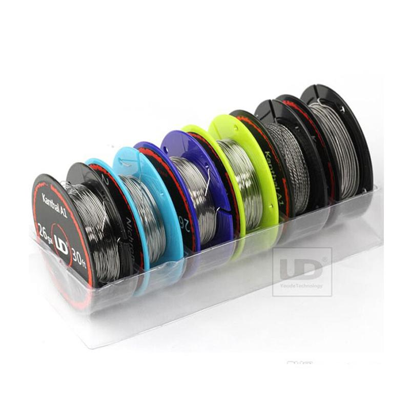 UD (Youde) Wire Box for vape coil 6 rolls of different vape wires