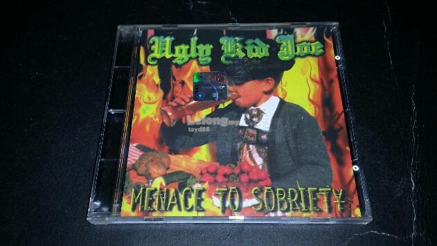 UGLY KID JOE - MENACE TO SOBRIETY CD