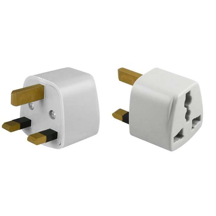 uk 3 pin travel plug socket adapter end 9 1 2020 9 13 am. Black Bedroom Furniture Sets. Home Design Ideas
