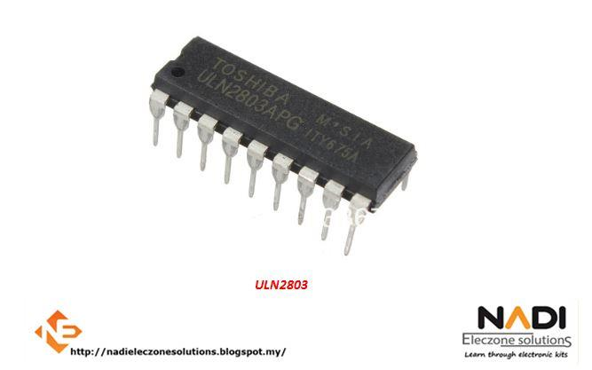 ULN2803 Darlington Transistor Array 8 NPN ULN 2803 IC Arduino PIC