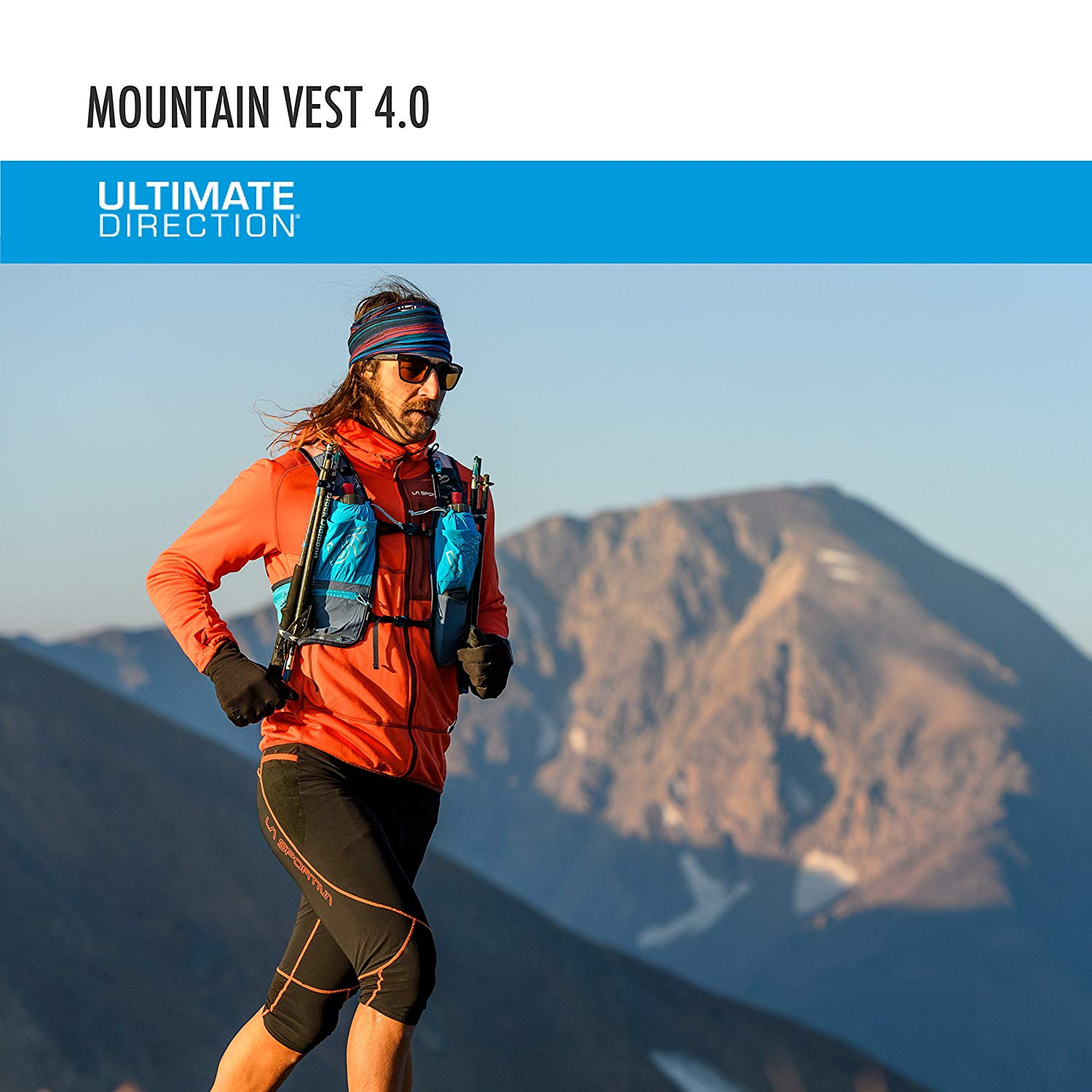 e35fadb52e Ultimate Direction Mountain Vest 4.0Hiking Trail Running Vest Backpack