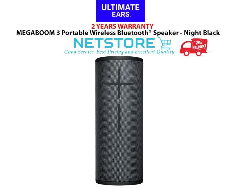 Ultimate Ear UE MEGABOOM 3 Portable Bluetooth Speaker - Night Black