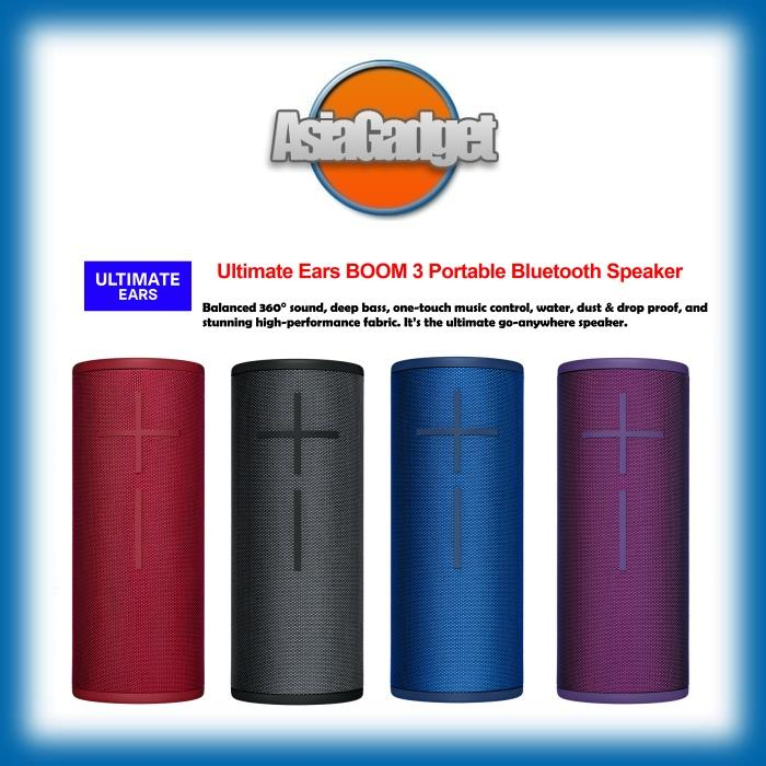 Ultimate Ears BOOM 3 Portable Bluetooth Speaker FREE Sandisk 32Gb SDHC