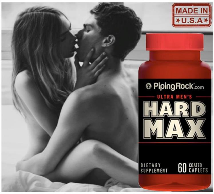 Ultra Men's HARD MAX, 60 Tablets (Ubat Kuat, Tongkat Ali, Macae)