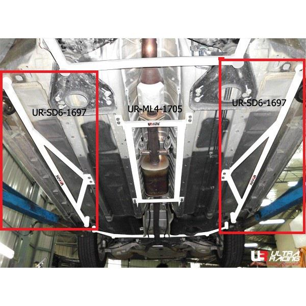 b4105e6f3cf ULTRA RACING Bar NISSAN ALTIMA V6  06 and CEFIRO TEANA J32  08