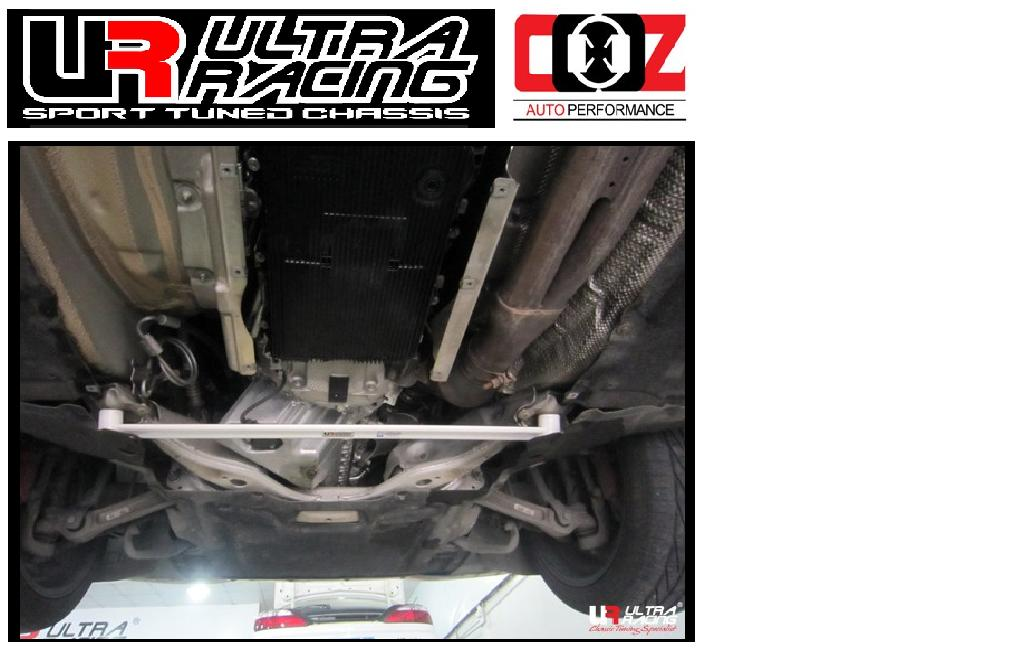 ULTRA RACING FRONT LOWER BAR  BMW E63 (640) 4.0 2003