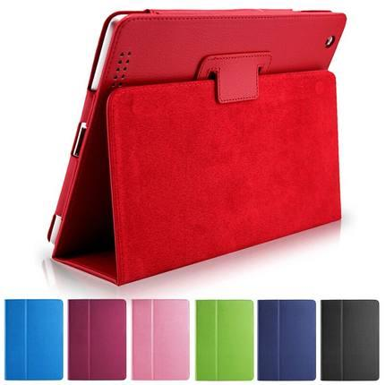 Ultra-thin Apple ipad 2/3/4 protective leather case cover