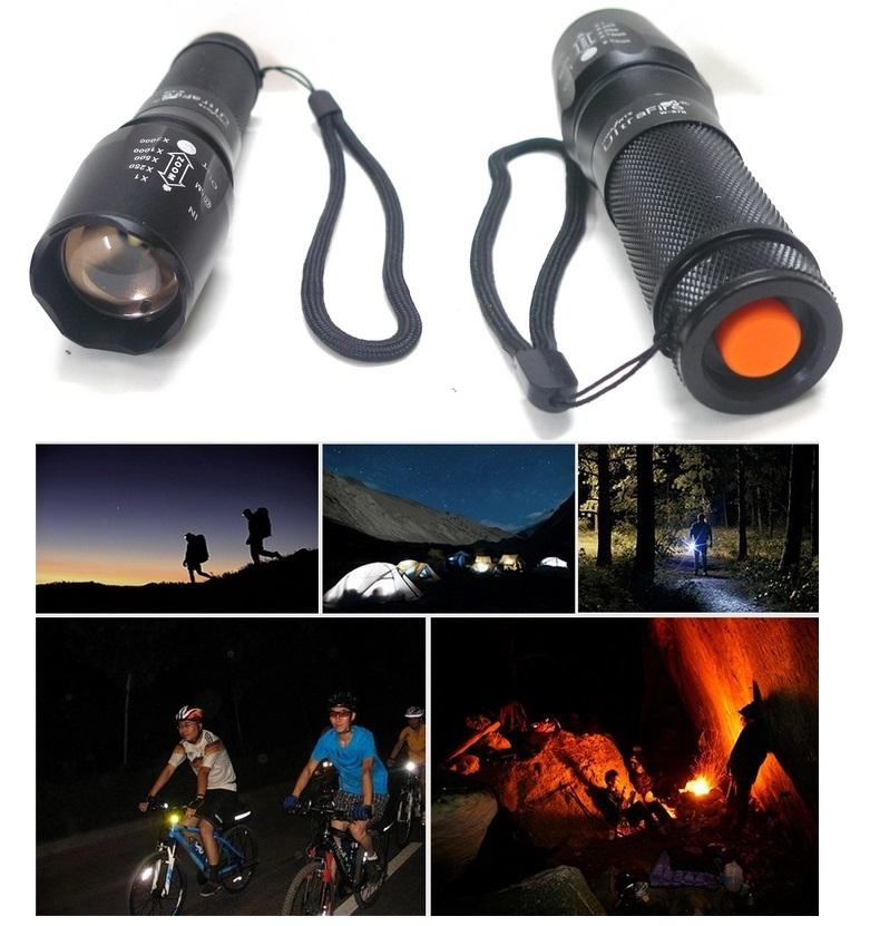 UltraFire 878 L2 26650 CREE torchlight Zoomable LED Flashlight