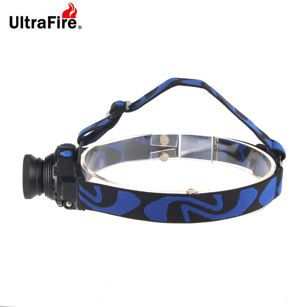 ULTRAFIRE Headlamp - ULTRAFIRE Xm-t6 500lm 3-position Light Focusing H..