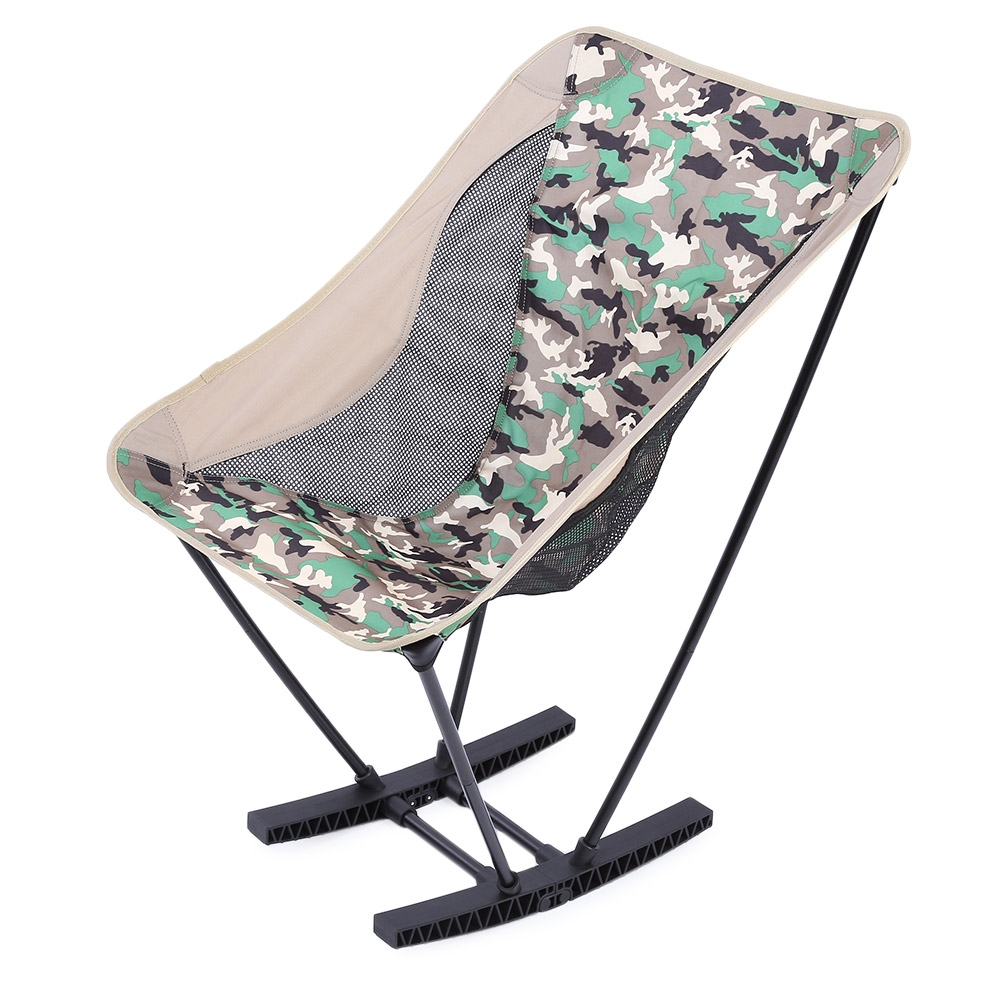 ULTRALIGHT FOLDING ALUMINUM ALLOY STOOL ROCKING CHAIR OUTDOOR CAMPING