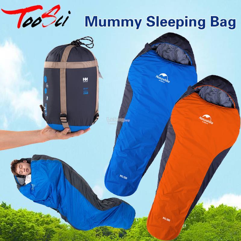 Ultralight Mummy Sleeping Bag Lightweight Compact Compression Sack