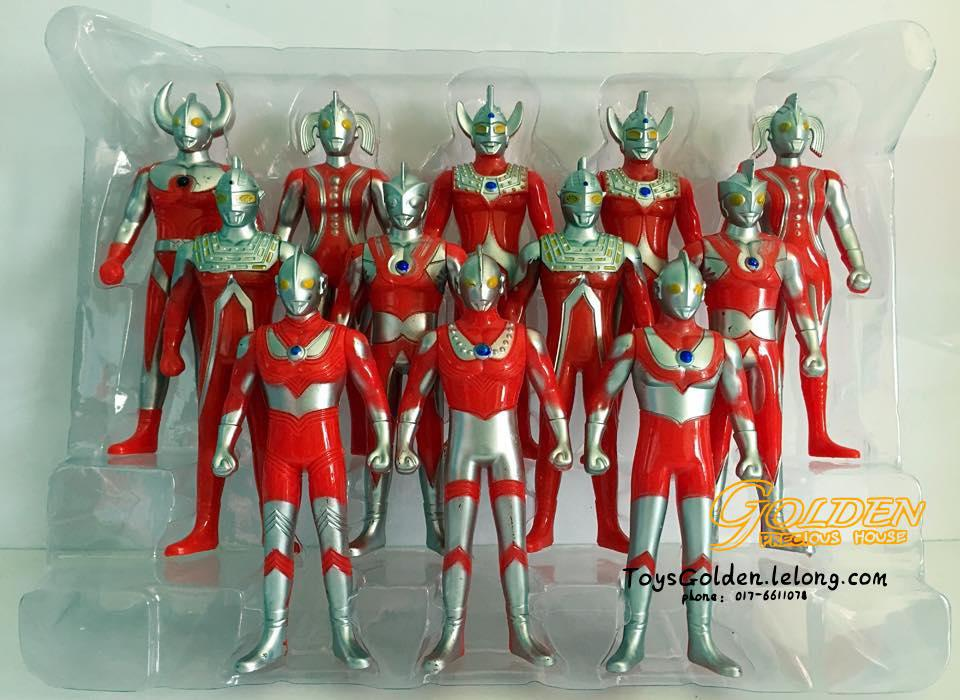 Ultraman Figures Toys T3063 12in1 Set End 6 3 2019 2 46 Pm