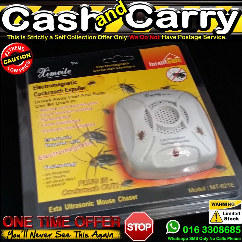 Ultrasonic Cockroach Pest Repeller	Electronic Anti Mosquito Insect Mou