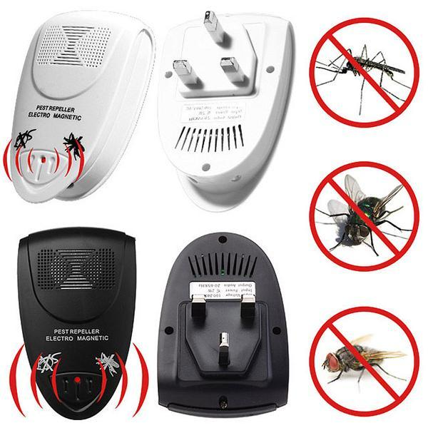 Ultrasonic Electronic Anti Mosquito Pest Mouse Repellent Repeller