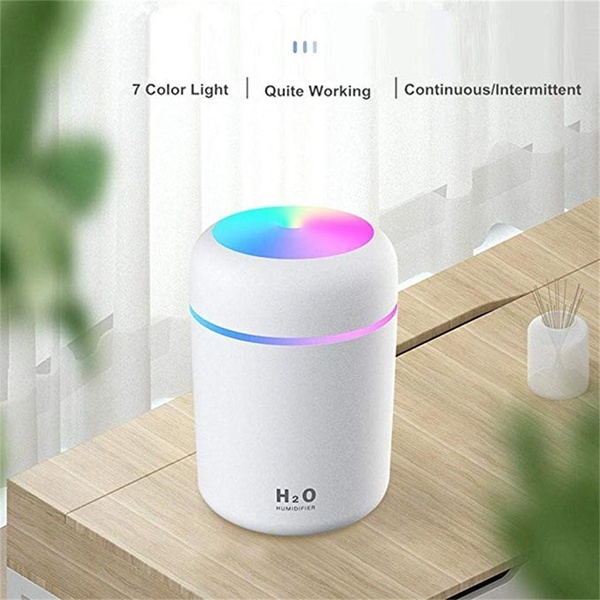 ULTRAsonic Turning Color Cup Humidifier USB Diffuser For - [NAVY BLUE]