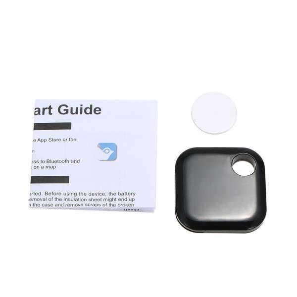 Ultrathin Smart Key Finder Locator Pet Kid Phone Tracker Black