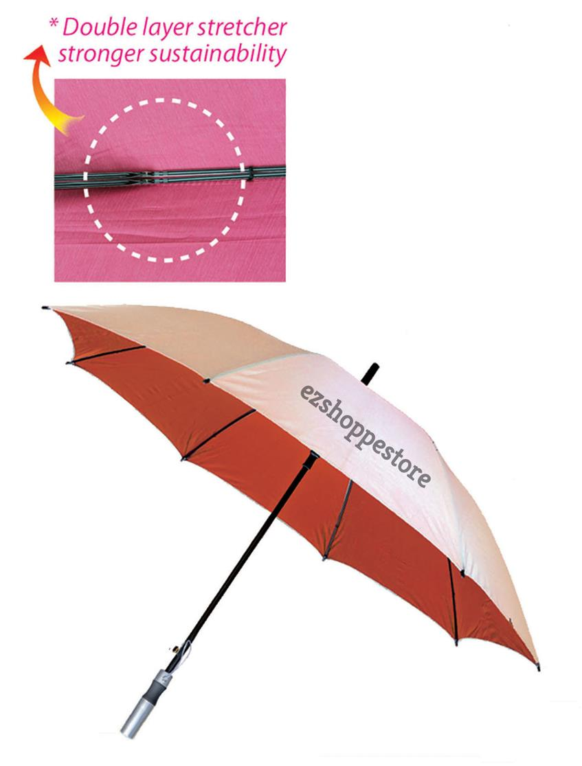Umbrella With Sustainable Heat & Sun Or Rainy Day Protection