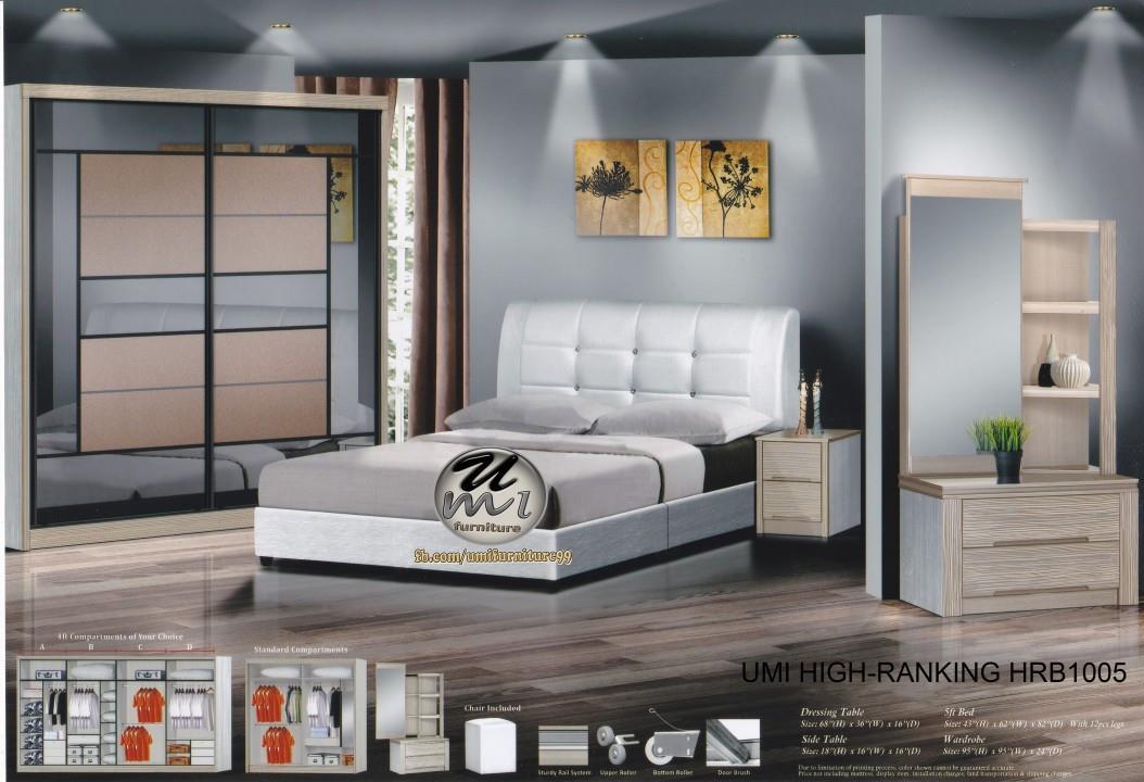 Lc Deco Bedroom Set High Rnking Hrb1005 Bilik Tidur