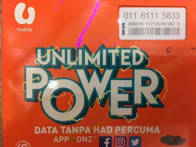 UMOBILE Prepaid 01161115833