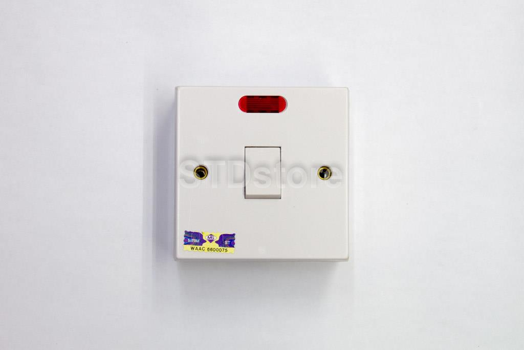 UMS Double Pole Switches 1 Gang 20A (end 5/1/2019 11:05 AM)