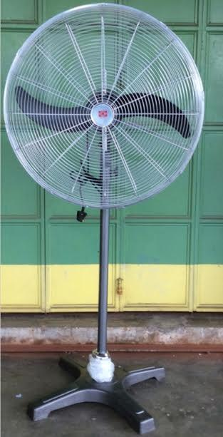 UMS HEAVY DUTY INDUSTRIAL STAND FAN 26 INCH ( METAL CLAD )