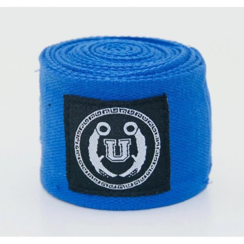 UNBEATABLE Premium Hand Wraps- Blue