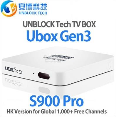 Unblock Tech UBOX 3 S900 Pro 16GB 4K Android 5 1 TV Box