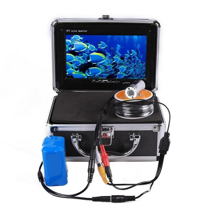 Underwater Fishing Camera with Color Monitor (WP-FF12C).
