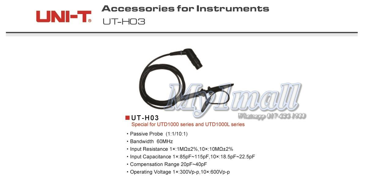 UNI-T UT-H03 60Hz Measuring Lead Testing Probe