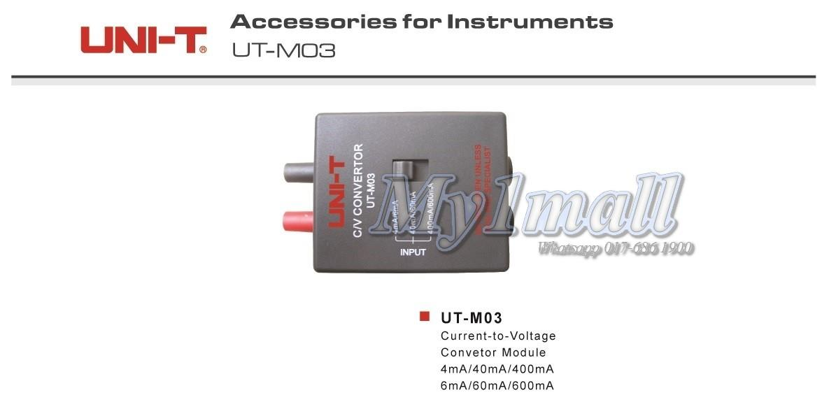 UNI-T UT-M03 Current to Voltage Convertor Module
