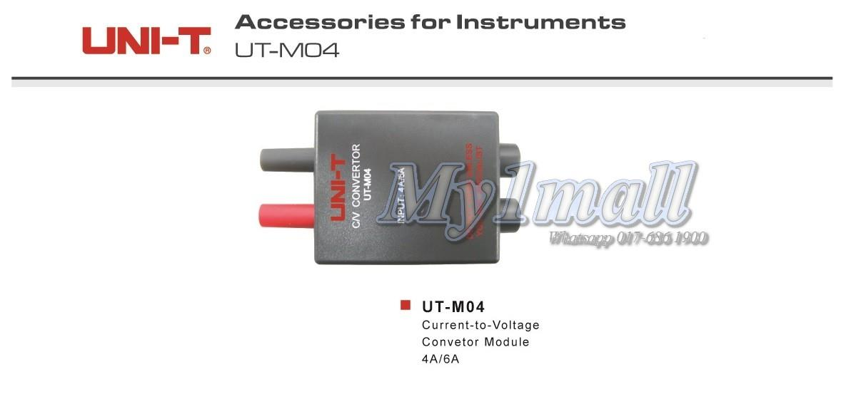 UNI-T UT-M04 Current to Voltage Convertor Module