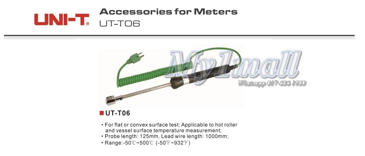 UNI-T UT-T06 Thermo Couple Test Lead Probe