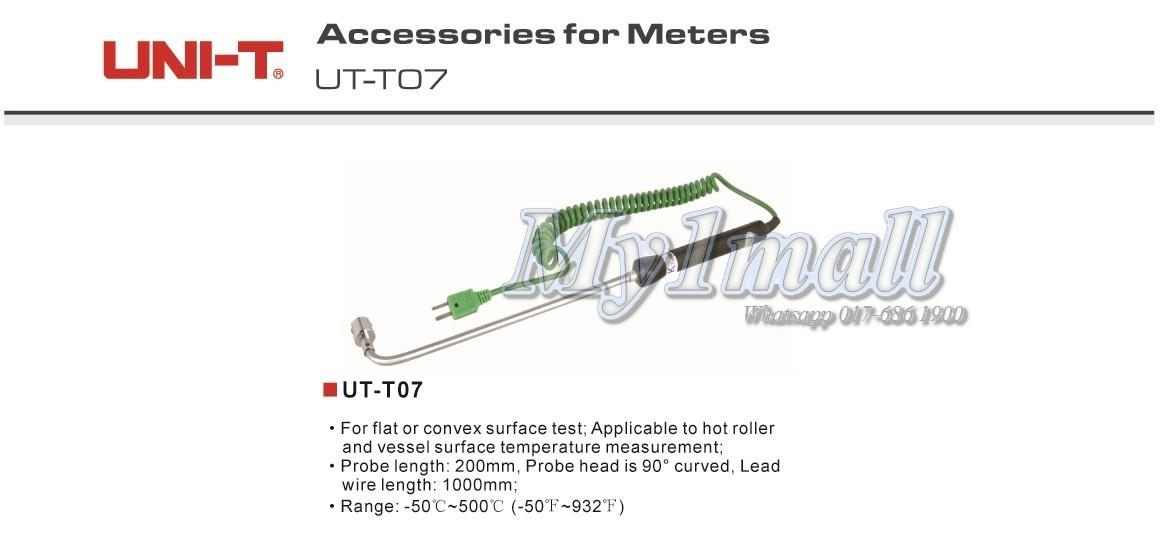 UNI-T UT-T07 K-type surface thermocouple Test Probe