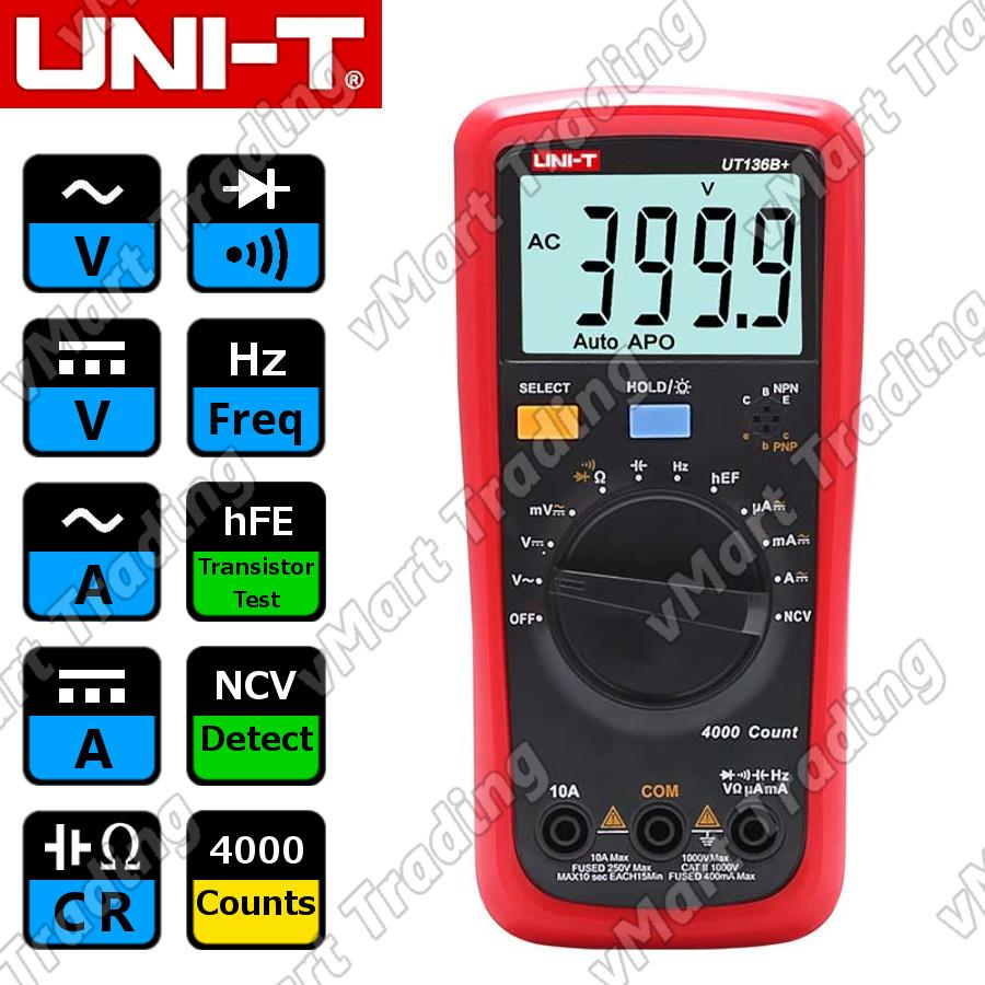 UNI-T UT136B+ Digital Multimeter