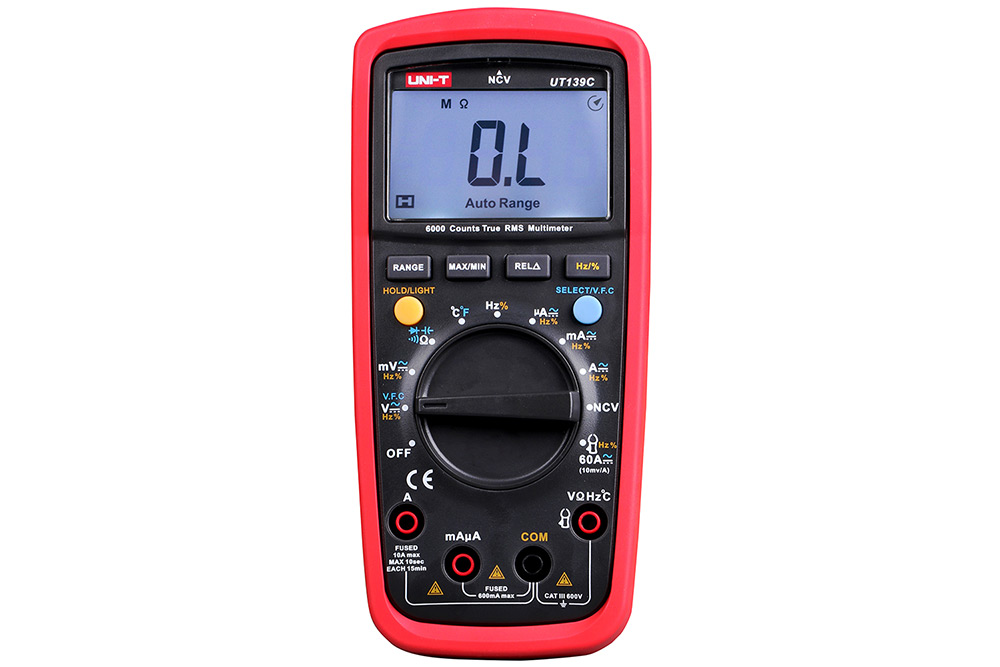 UNI - T UT139C True RMS Digital Multimeter Handhold Test Device
