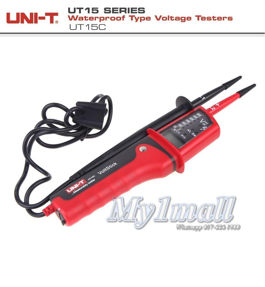 UNI-T UT15C WATERPROOF TYPE VOLTAGE TESTER