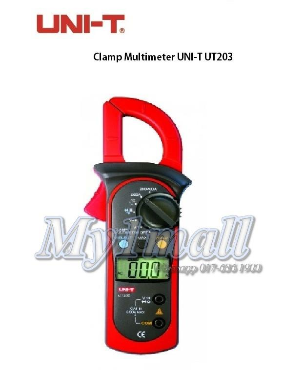 UNI-T UT203 400-600A DIGITAL CLAMP METER