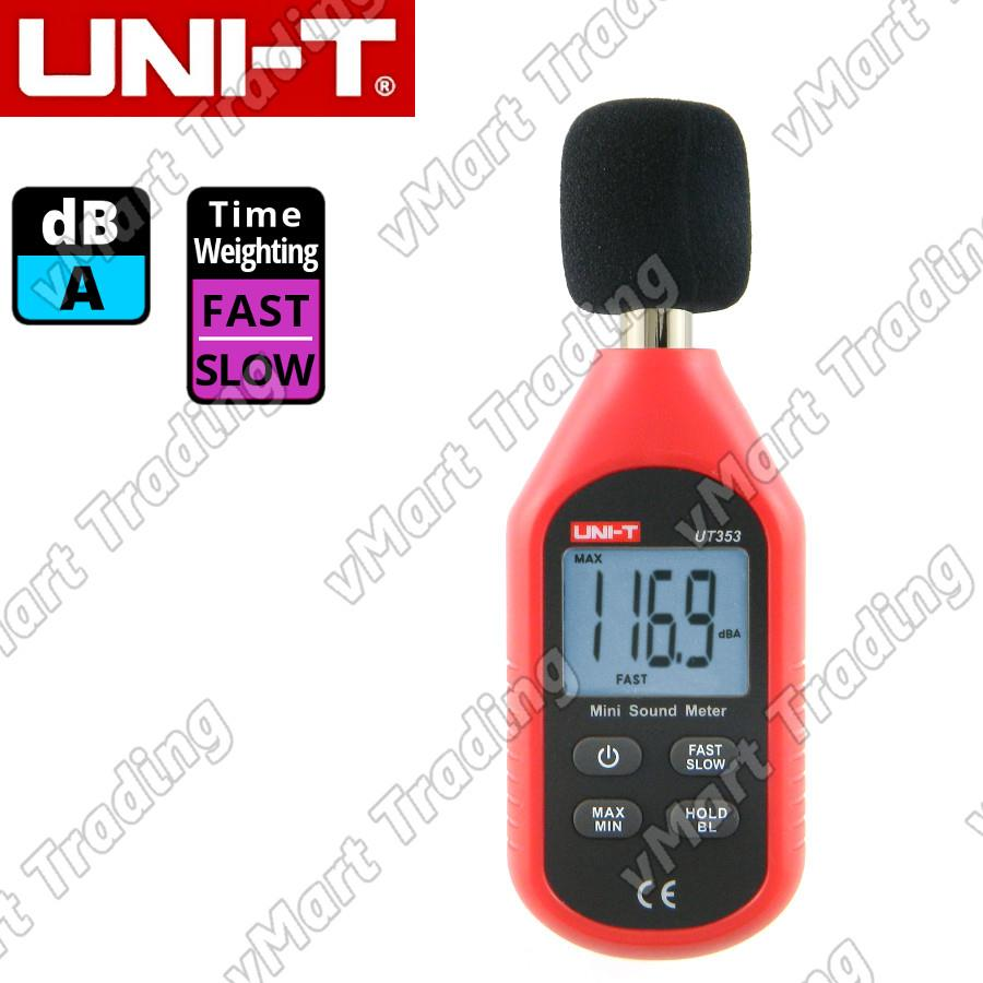 UNI-T UT353 Mini Digital Sound / Noise Level Meter