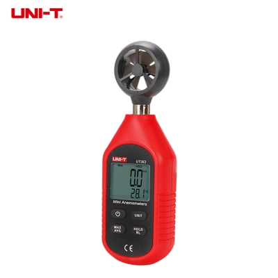 UNI - T UT363 LCD Anemometer Gauge Measure Thermometer Wind Speed Air ..