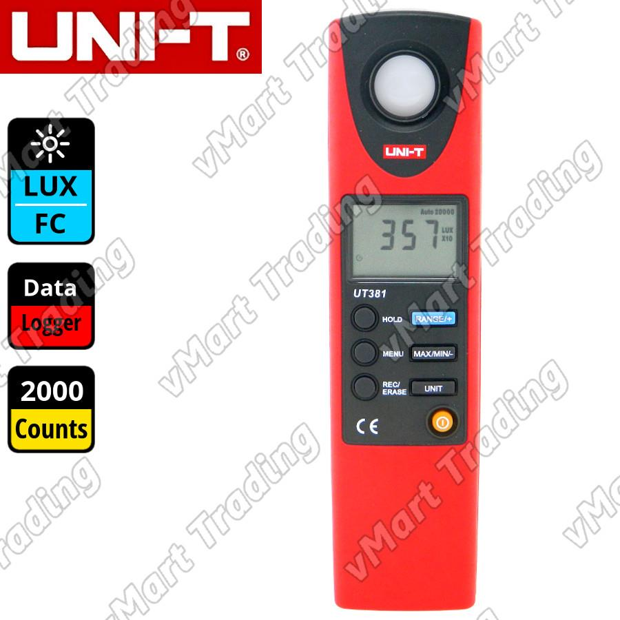 UNI-T UT381 Industrial Digital Light Lux FC Meter