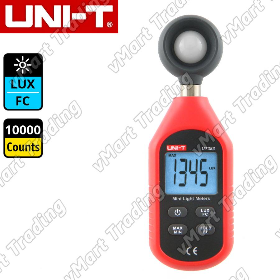UNI-T UT383 Mini Digital Light / Lux / FC Meter