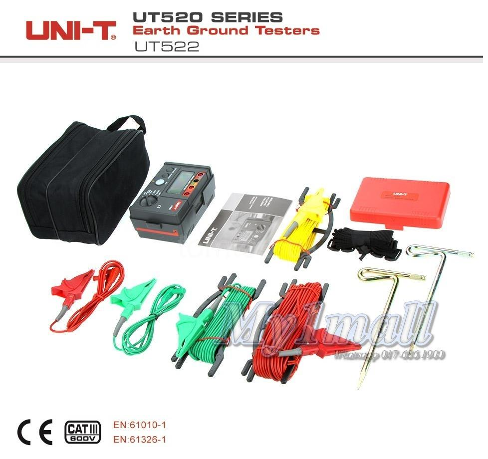 UNI-T UT522 EARTH GROUND TESTER